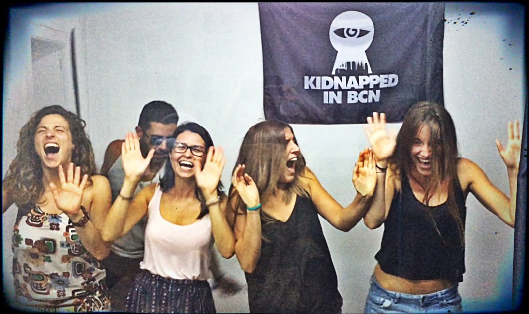 People enjoying Kidnapped in BCN5